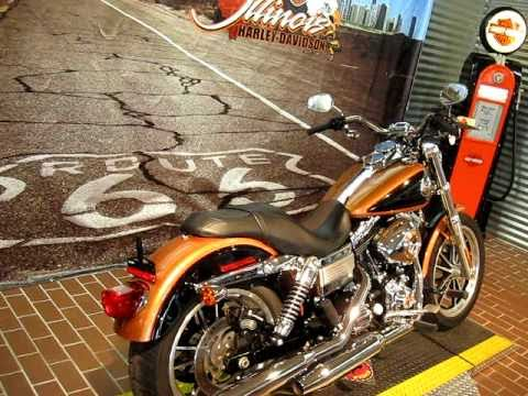 2008 Harley-Davidson 105th Anniversary Dyna Low Rider FXDL Copper Pearl and Vivid Black