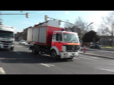 Wlf Ab Gefahrgut Bf Kassel Fw 1 (viel Pressluft!) + Sexy Nef + 4x Rtw Drk Kassel (hd) video