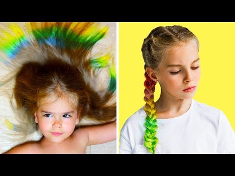 10 Cute Hairstyle Ideas For Girls Youtube