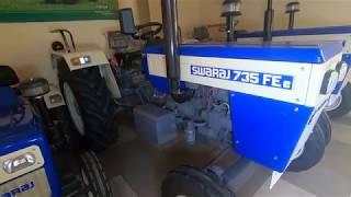 Swaraj 735 FEe Side gear box tractor full feature & specifications