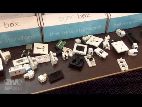 ISE 2015: Eyestones Limited Exhibits Sync-box Recessed TV Socket