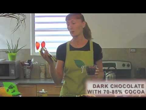 Living Green with Baby: Dark Chocolate Hearts