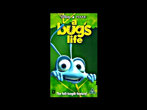 A Bug s Life  1999 VHS UK   A Bugs Life Vhs
