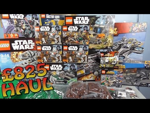 INCREDIBLE £825 LEGO STAR WARS/SUPER HEROES HAUL (+2017 ROGUE ONE SETS)