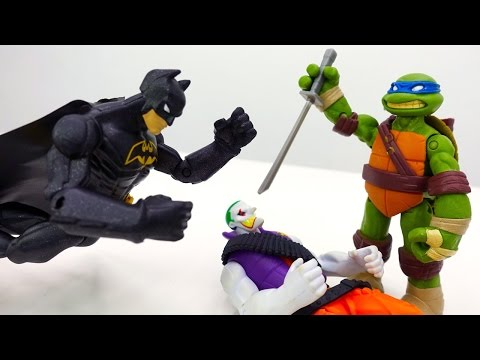 Видео для детей: #супергерои. Злодеи обманывают черепашек ниндзя! Фабрика Героев