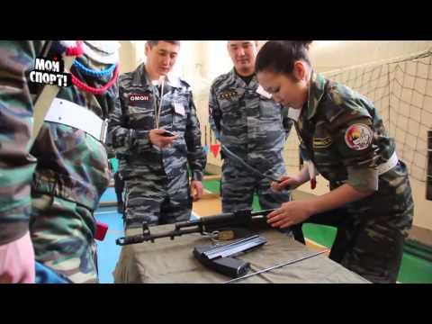 Республиканская военно-спортивная игра Снежный Барс 2014.