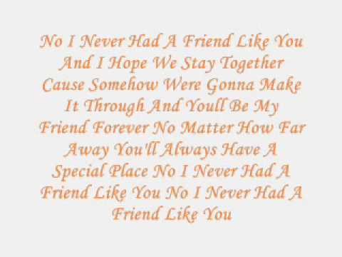 sammie - friend like you
