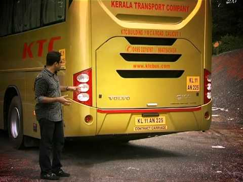 Volvo 9100 & Nisha with M Class   Fly Wheel   Part 1