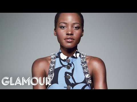 Glamour Cover Star Lupita Nyong'o on Childhood Memories, Acting and Her Oscar Moment - Glamour