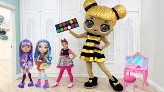 Download lagu София играет с куклой LOL в салон красоты и с детской косметикой