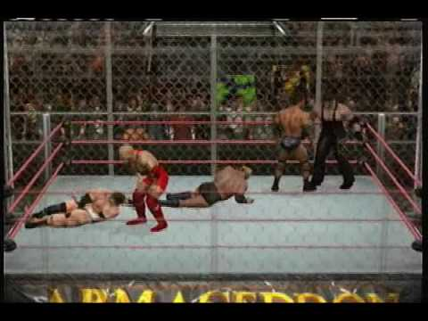 Lets play Smackdown vs Raw 2010: Armageddon Hell in a cell