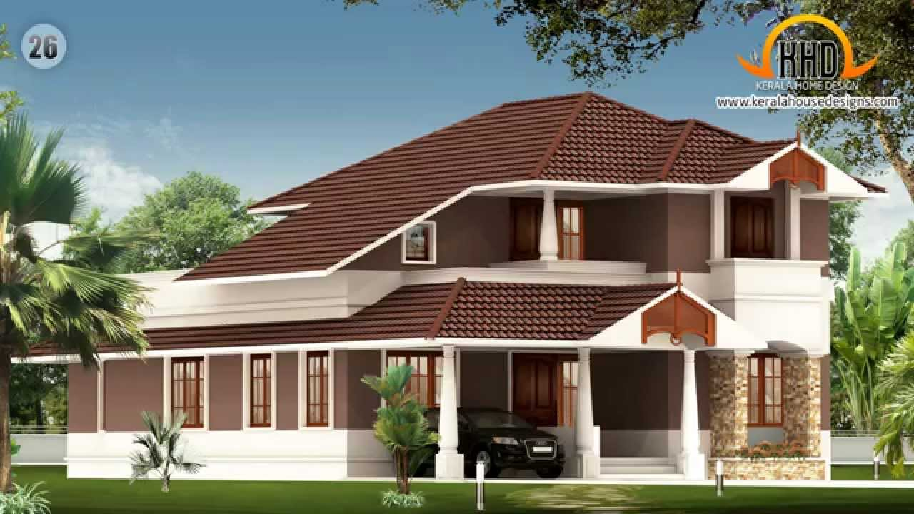 House design photos kerala home exterior design photos for Home plan collection
