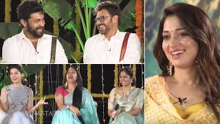 F2 Team Sankranti Special Interview | Venkatesh | Varun Tej | Mehreen | Tamannaah