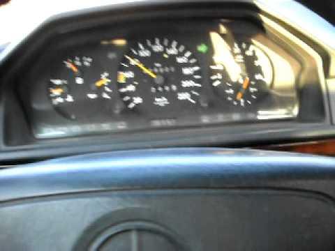 Mercedes 300D Automatic W124 0-125 km/h