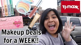 Come Shop With Me at TJMAXX for a week! | High End Makeup Deals  from Hana Belle