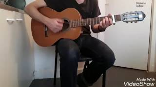 David Carreira - Domino - comment jouer tuto guitare