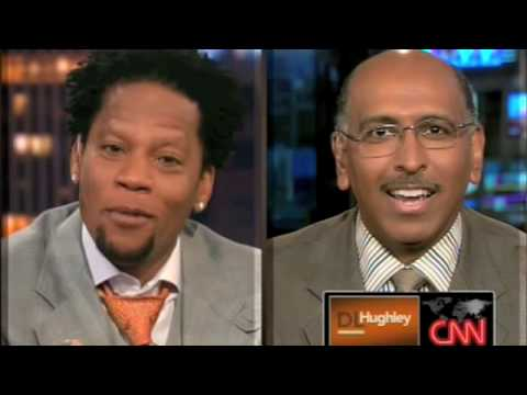 DL Hughley on CNN: Steele vs. Limbaugh