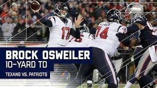 Dion Lewis Fumble Sets Up Brock Osweiler TD Pass!   Texans vs. Patriots   NFL Divisional Highlights