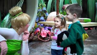 Caden And Mircea Meet Tinkerbell! Starstruck!