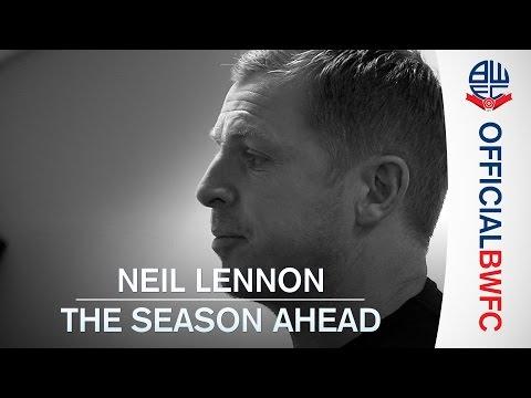NEIL LENNON   The summer and season ahead