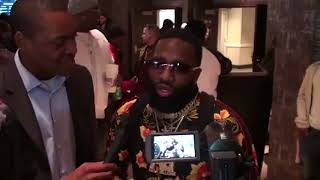 Adrien Broner CLOWNS Radio Rahim & WALKS OUT on Interview!