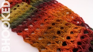 How to Crochet a Scarf: Broomstick Lace Infinity Scarf Free Crochet Pattern