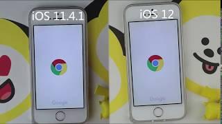 [#iOS12]iPhone 5s iOS 11 vs iOS 12 - Speed Test