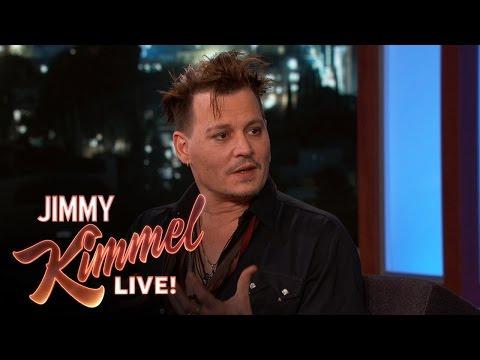 Johnny Depp on Playing Donald Trump