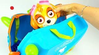 Чемодан с сюрпризами и игрушками для детей  Игрушкин ТВ