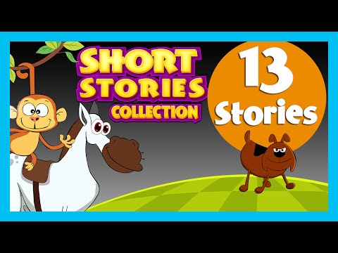Short Stories For Children | 13 Stories | Gingerbread Man Story, Lion And Mouse Story video