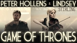 Клип Lindsey Stirling - Game of Thrones cover ft. Peter Hollens