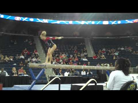 Arkansas (Jaime Pisani) - SEC BB Champ, 9.90