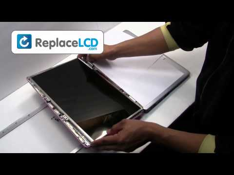 Dell Inspiron LCD Screen Replacement Guide 1525 1545 - Replace Fix Repair Install Laptop