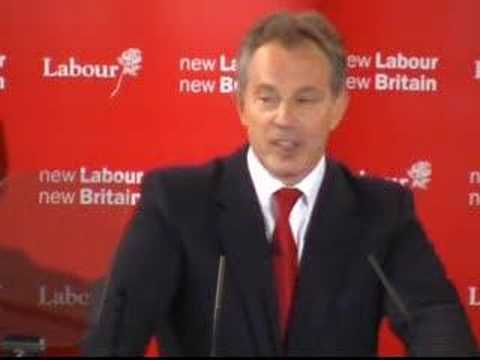 Tony Blair to step down as leader of the Labour Party