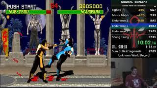 Mortal Kombat - Arcade Prototype 4.0 - 1cc (Scorpion)