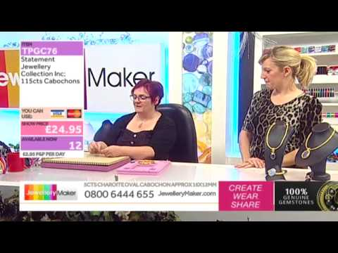 How to Make Beaded Jewellery: JewelleryMaker LIVE 10/12/2014