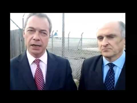 Lets get planes flying from Manston says Nigel Farage