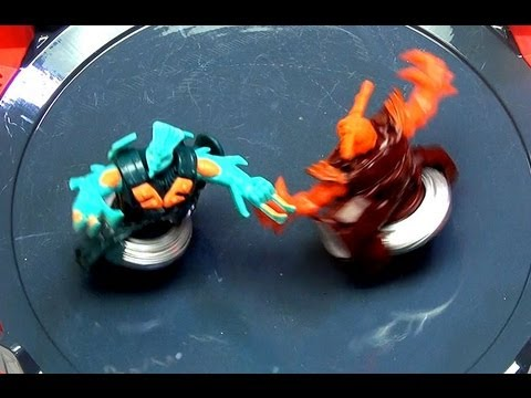 Beyblade Ss Beywarriors Fire Vs Water Element Battles In Octagon Showdown Stadium video