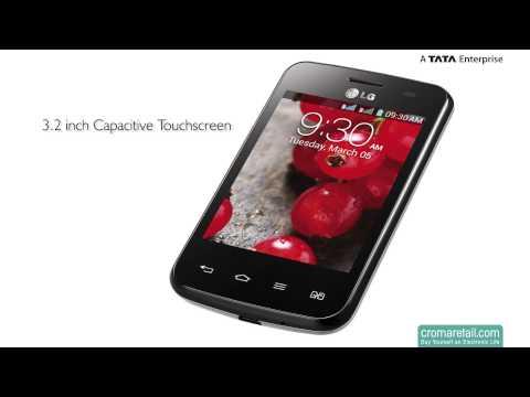 LG Optimus L3 II Dual E435 GSM Mobile Phone (Dual SIM)