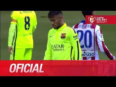 Duro marcaje a Neymar