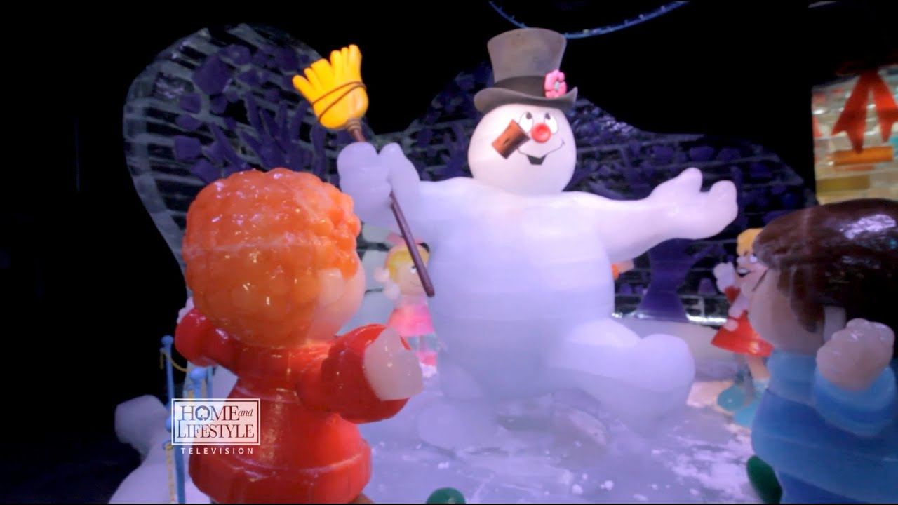 Gaylord Texan's Lone Star Christmas and ICE! Sculptures 2014 - YouTube