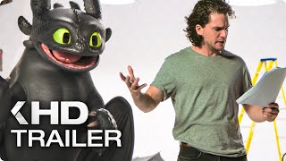 HOW TO TRAIN YOUR DRAGON 3 - Kit Harington vs Toothless Viral Clip (2019)