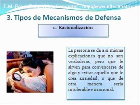 Video mecanismos de defensa