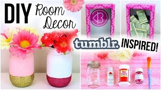 DIY Room Decor! Tumblr Inspired ♡