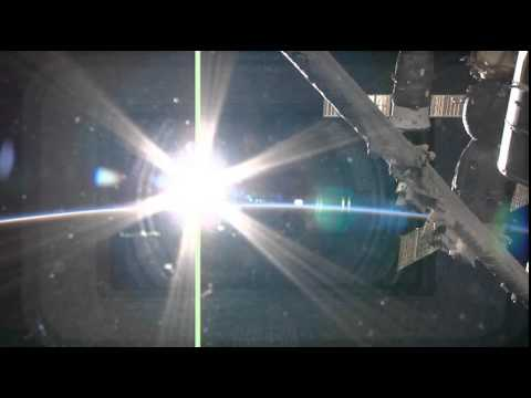 SUNSET VIEW FROM THE INTERNATIONAL SPACE STATION - AMAZING !