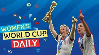 The USA are champions of the world! | Womens World Cup Daily