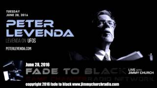 Ep. 480 FADE to BLACK Jimmy Church w/ Peter Levenda: Levenda on UFOs LIVE