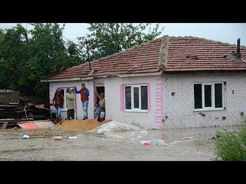 Bulgaria struggles with heavy floods