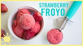 EAT | Strawberry Frozen Yogurt