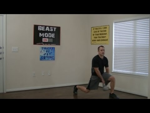 12 Min Kettlebell Workout - HASfit Kettlebell Training Workouts - Kettle Bell Exercises Work Out Image 1